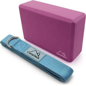 Yoga Gurt Haltung Widerstand & Yoga Block Schaumstoff Yoga Blöcke für Fitness
