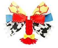 Disney Toy Story Jessie Braid Bow Tie Hair Clip Pin Cosplay Costume Dress Up
