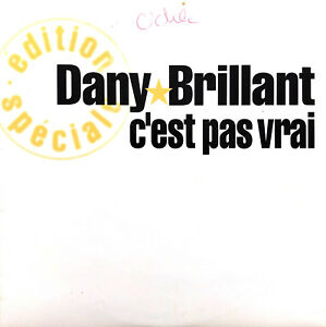 Dany-Brillant-CD-Single-C-039-est-pas-vrai-Promo-France-VG-EX