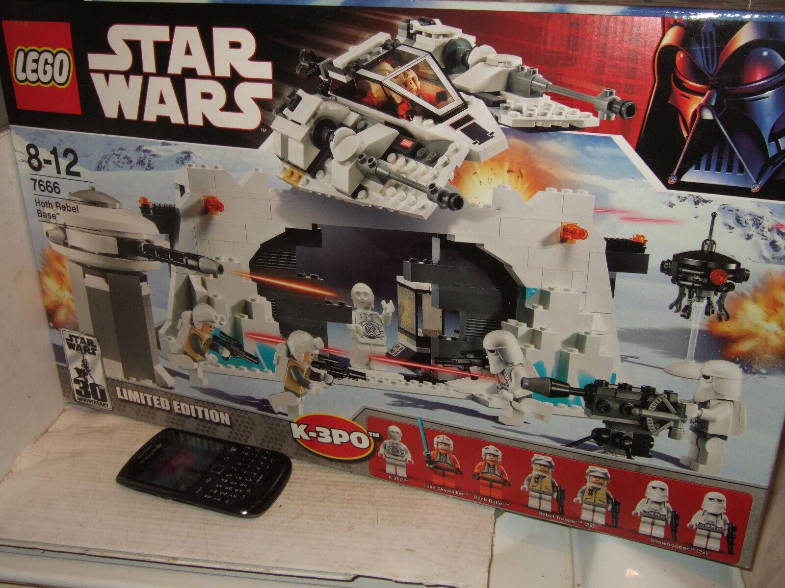 Lego Star Wars Hoth Rebel Base 7666 For Sale Online Ebay