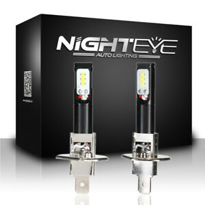 NIGHTEYE-H1-160W-LED-1600LM-Nebel-Licht-Birne-Nebelscheinwerfer-Lampen-Fog-Light