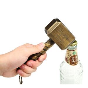 Beer-Wine-Bottle-Opener-Mjolnir-Thor-Hammer-Magnetic-Paste-on-Fridge-Funny-Gift