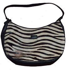 Osprey London Zebra Skin Leather Handbag Guaranteed Original