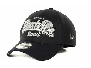 7b0207c8308 New Era Pinstripe Bowl Tail Swoop Classic New York Football Hat Cap ...