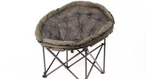 Nash-Indulgence-V2-Moon-Chair-NEW-Carp-Fishing-Tub-Camping-Chair-SALE-T9754