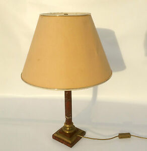ANCIEN-EMPIRE-Fondation-Lampe-de-table-LAMPADAIRE-MARBRE-Lampe-Hotel-Vintage