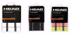 Head Xtreme Soft (xtremesoft) Overgrip Pack De 12-afficher Le Titre D'origine