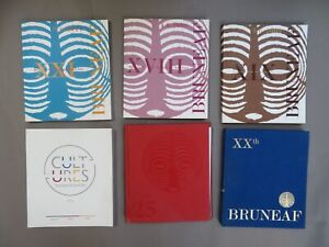 6 Catalogues Expo Brussels