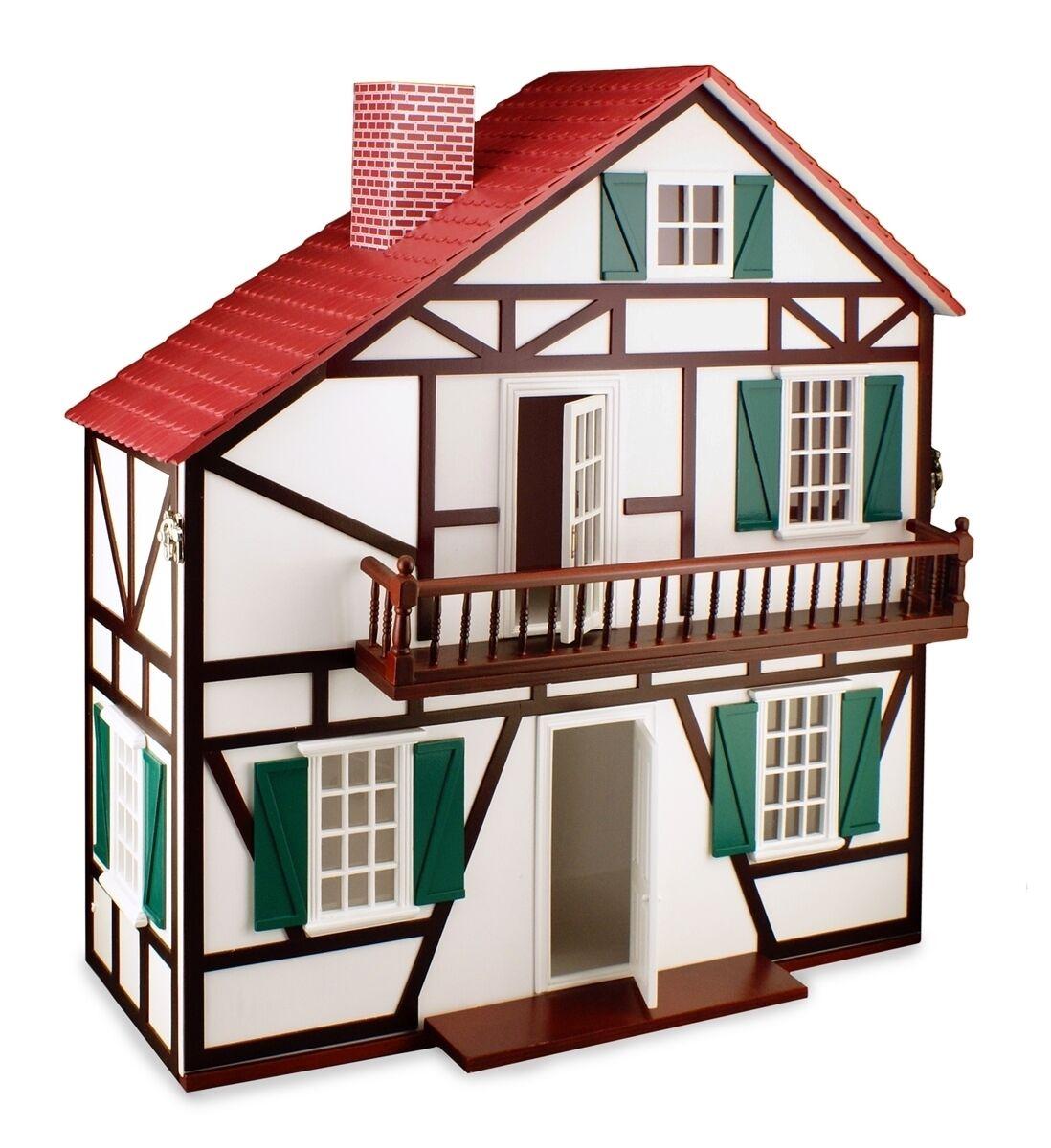 Reutter porzellan porzellan porzellan maison de poupée vide/Dollhouse Empty Kit 1:12 poupée 1.600/0 70a42c