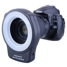 58mm Macro Ring Light Adapter Ring for DSLR Cam Lens w/ 58mm Filter Thread UD#20