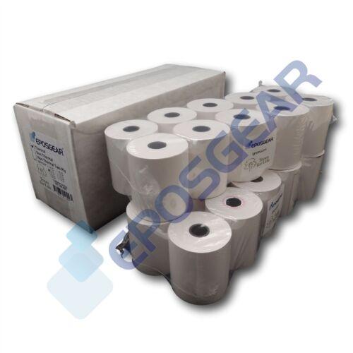 100 57mm x 51mm 57X51MM carta termica carta di credito PDQ Streamline MACCHINA ROLLS