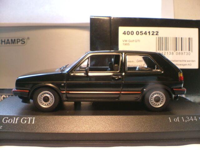 RARE MINICHAMPS 1/43 1985 VOLKSWAGEN GOLF GTI MK11 ONLY 1344 PCS WORLDWIDE NLA