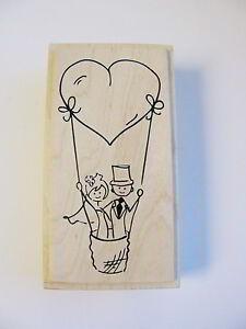 Schön Das Bild Wird Geladen Stempel Hochzeit Brautpaar Herz Einladung  Karten Gestalten Embossing