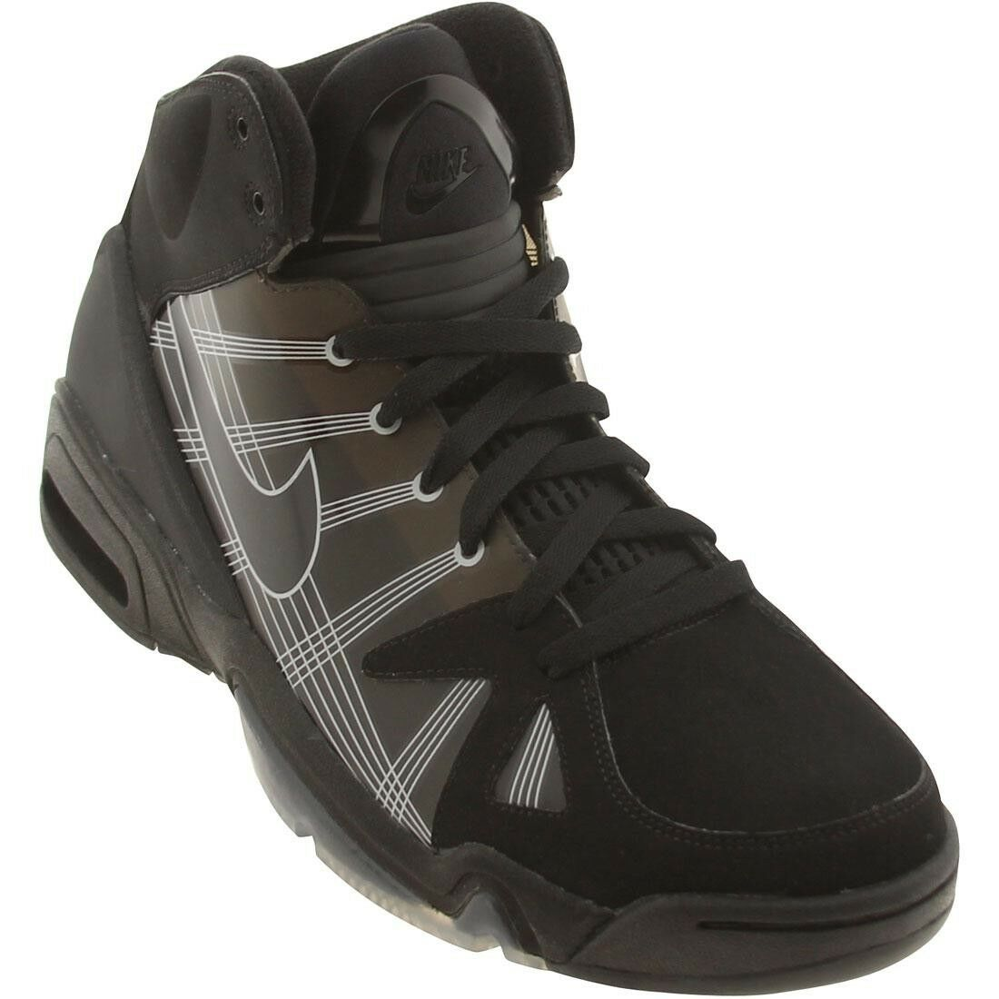 386159-001 Nike Air Hoop Structure LE Black Medium Grey