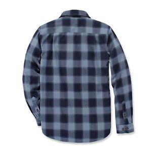 Carhartt Mens Hubbard Slim Fit Cotton Flannel Shirt
