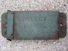 ANTIQUE 19th CENTURY ELGIN JOLIET & EASTERN EJ&E IL IN DEFECT CARD GREEN IRON CN