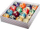 Brand New Empire USA Billiard Marble Ball Set Standard Size 2-1/4
