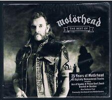 25 YEARS  MOTORHEAD THE BEST OF CD F.C.  SIGILLATO!!!