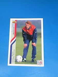 VAN-VOSSEN-NEDERLAND-HOLLANDE-PAYS-BAS-Carte-Card-UPPER-DECK-USA-94-1994-panini