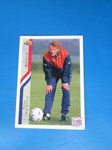 VAN-VOSSEN-NEDERLAND-HOLLANDE-PAYS-BAS-Carte-Card-UPPER-DECK-USA-94-1994-panini