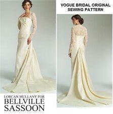 OOP /& HTF Prom Bridal Dress Vogue 2880 V2880 Bellville Sassoon Formal Evening