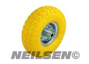 4x  sack truck replacement wheel tyre SOLID tire truck tow cart barrow trolley