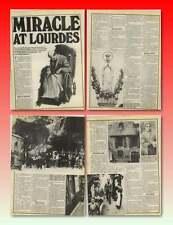 Jack Traynor Liverpool Pilgrimage To Lourdes Bernadette Soubirous Old Article