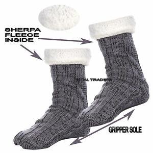 Mens-Lounge-Chunky-Slipper-Socks-Ultra-Warm-Non-Slip-Grip-gift-ideas