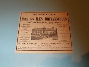 PUBLICITE-PRESSE-1888-hotel-des-iles-britanniques-MENTON-ROSNOBLET