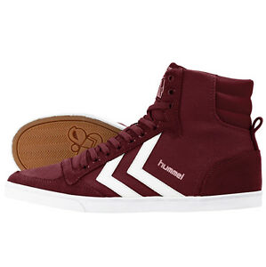 Hummel-slimmer-stadil-High-Chaussures-sneaker-Cabernet-63-511-3661-duo-Canvas-Low