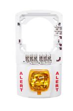 System Sensor Sep Spsw Strobe Expander Plate White Case Amber Light Brand New