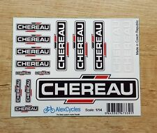 CHEREAU Tamiya 14th Scale 1/14 Reefer Trailer Decals Stickers Kit 56319 56302