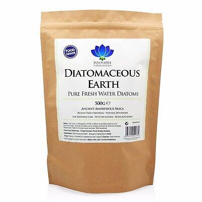Diatomaceous Earth - Pure Food Grade Nutri De Powder - Pack Size Options Reinigen Der MundhöHle.
