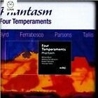 Four Temperaments: Byrd, Ferrabosco, Parsons, Tallis (2014)