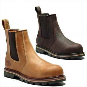 DICKIES-FIFE-II-DEALER-BOOTS-WORK-SAFETY-CHELSEA-STEEL-TOE-CAP-SIZE-7-12-FD9214A