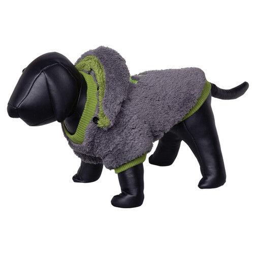Nobby Hundemantel Teddy grau grün, diverse Größen, NEU   | Günstige Preise