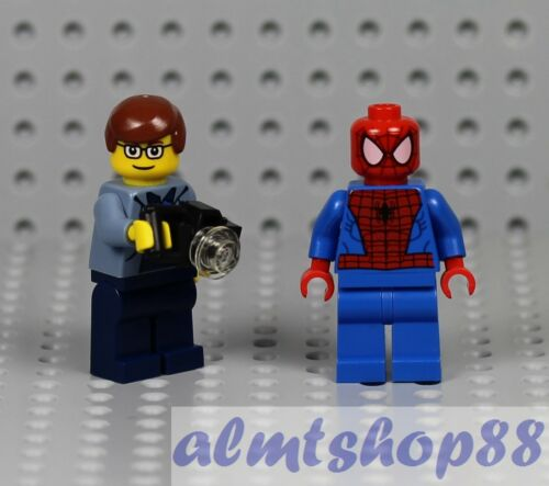 LEGO Peter Parker /& Spiderman Minifigure Sweatshirt Jacket The Origins 4851