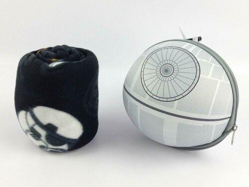 Darth Vadar Boba Fett Stormtroopers Star Wars Throw Blanket /& Death Star Case