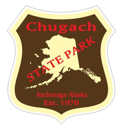 Chugach State Park Sticker R4876 Alaska YOU CHOOSE SIZE