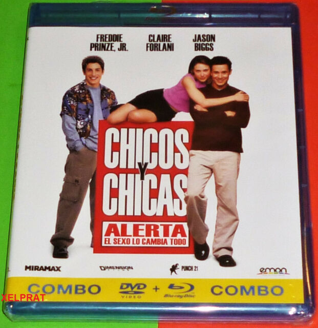 CHICOS Y CHICAS / BOYS AND GIRLS -COMBO BLURAY + DVD - AREA 2/B Precintada