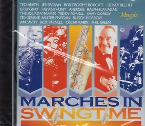 Marches-In-Swingtime-CD-Tex-Beneke-Sauter-Finegan-Jimmy-Dorsey-Teddy-Powell