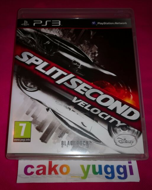 SPLIT SECOND VELOCITY SONY PS3 TRES BON ETAT VERSION 100% FRANCAISE