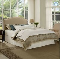 Upholstered Bed Headboard Modern Full Queen King Size Bedroom Frame Furniture