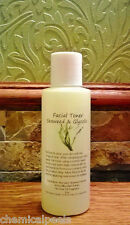 Facial Toner Seaweed & 15% Glycolic Acid 4 oz. Willow Bark Tea Tree Oil Acne W@W