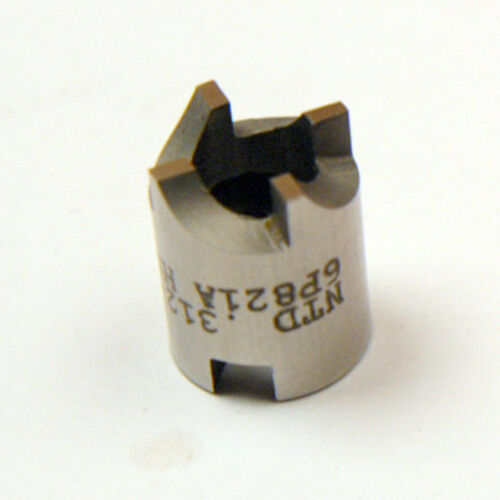 "1//2/"" DIAMETER INVERTED SPOT FACE TOOL 4 FLUTE HSS B-2-10-5-19"