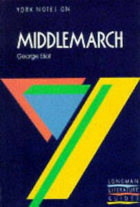 Middlemarch-T-S-ELIOT-AUTHOR-A-N-JEFFARES-EDITOR-M-HERBERT-NOTES-Ve