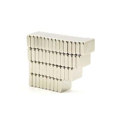 25 strong Neodymium block magnets 14mm x 9mm x 3mm N35 craft fridge DIY MRO