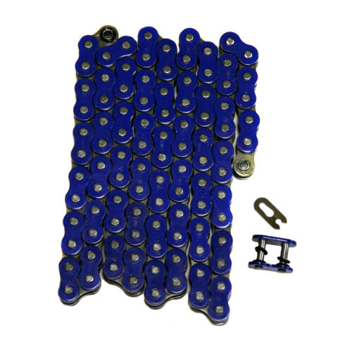 Blue 520x98 O-Ring Drive Chain ATV Motorcycle MX 520 Pitch 98 Links