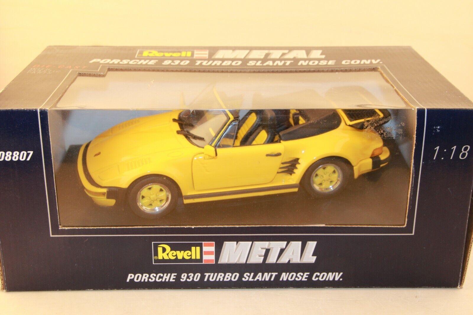 Revell Porsche 930 Turbo Slant Nose 1 18 Box  08907