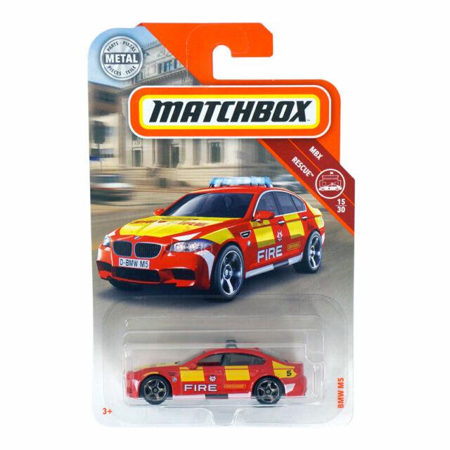 Matchbox BMW M5 MBX Rescue 15/30 Die Cast